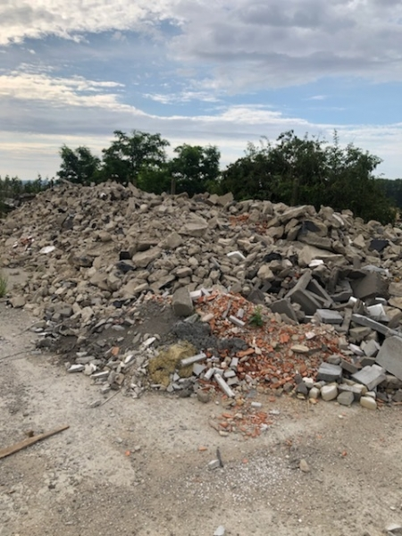 Main image of the offer Demolished concrete floor th. 10- 14