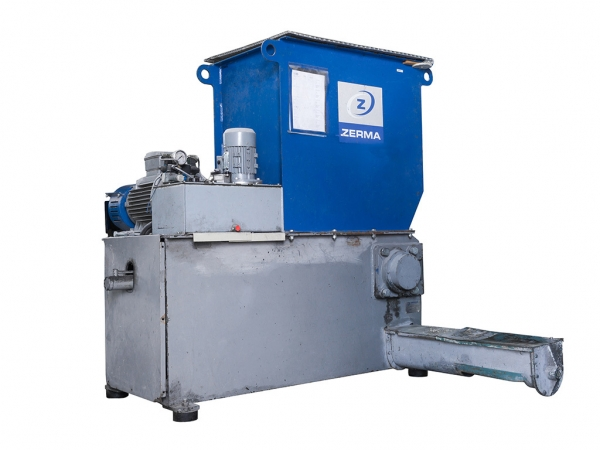 Main image of the offer Single-shaft slow-running crusher - ZERMA ZWS-600s