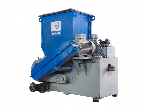 Image 1 offer Single-shaft slow-running crusher - ZERMA ZWS-600s