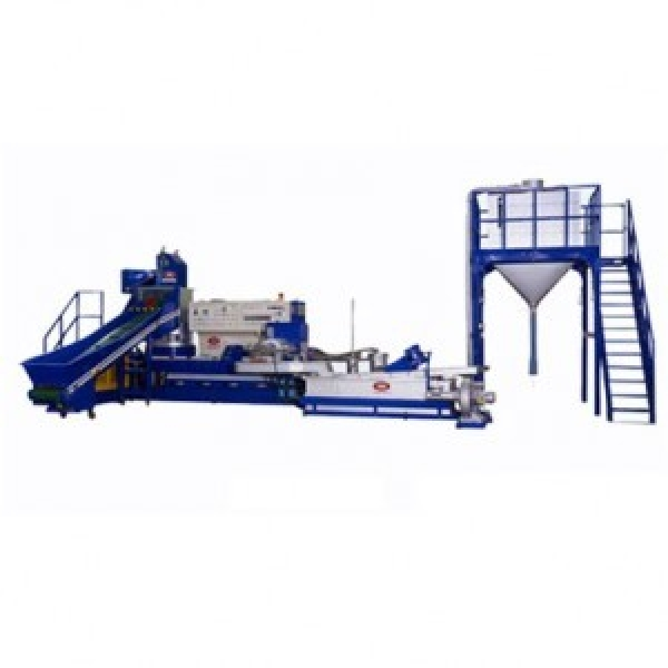 Main image of the offer Recycling line for processing waste PE / or PP foil, YDN V-85